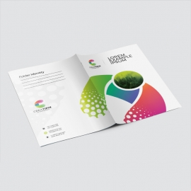 Creative Colorful Presentation Folder