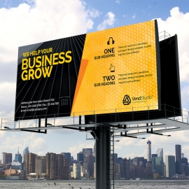 Creative Corporate Clean Business Billboard-Banner