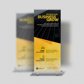 Creative Corporate Clean Business Rollup Banner