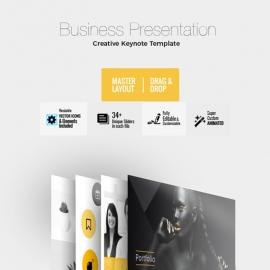 Creative Dotto Keynote Template