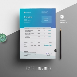 Creative Excel Invoice Template