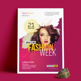 Creative Fashion Week Flyer