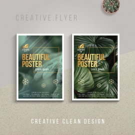 Creative Flyer & Poster Design