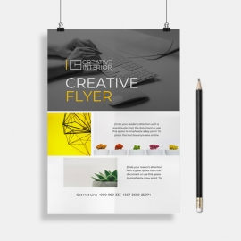 Creative Flyer Word