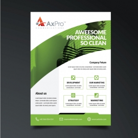 Creative Green Business Flyer