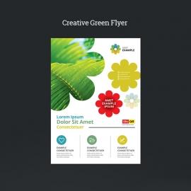 Creative Green Flyer