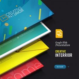 Creative Interior | Google Slide Template