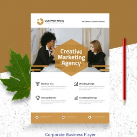 Creative Marketing Agency Flayer