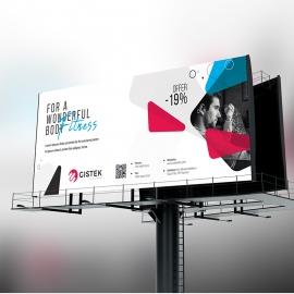 Creative Minimal Billboard Signage