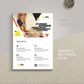 Creative Minimal Business Flyer Template