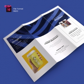 Creative Minimal Business Trifold Brochure Template