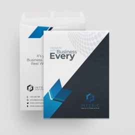 Creative Minimal Catalog Envelope