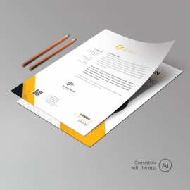 Creative Minimal Clean Letterhead