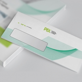 Creative Minimal DL Envelope Commercial