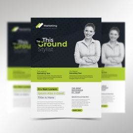Creative Minimal Flyer Template