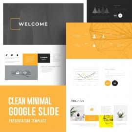 Creative & Minimal Google Slide Presentation Template
