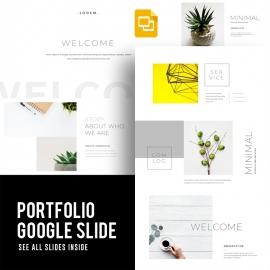 Creative Minimal Google Slide Template