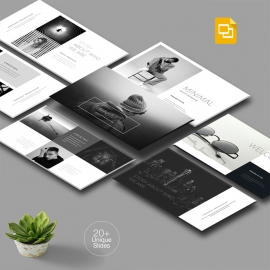 Creative Minimal Google Slide Template
