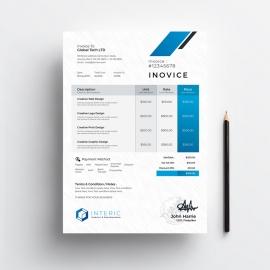 Creative Minimal Invoice