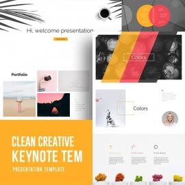 Creative Minimal Keynote Presentation Template