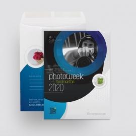 Creative Minimal Photography Catalog Envelope