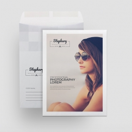Creative Minimal Photography Catalog Envelope