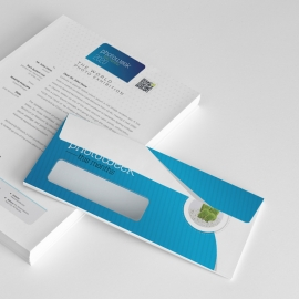 Creative Minimal Photography Commerial Envelope