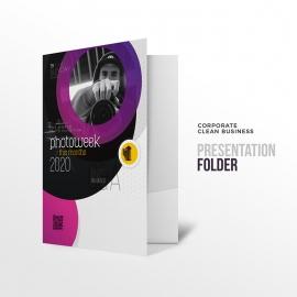 Creative Minimal Photography Presentation Folder