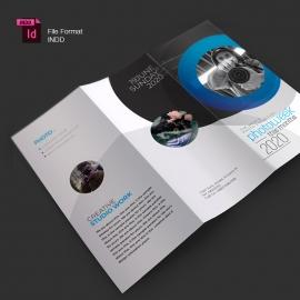 Creative Minimal Photography Trifold Brochure