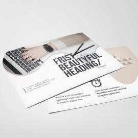 Creative Minimal PostCard