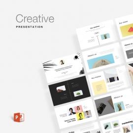 Creative Minimal Powerpoint