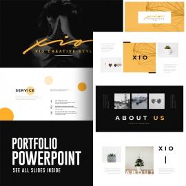 Creative Minimal Powerpoint Presentation