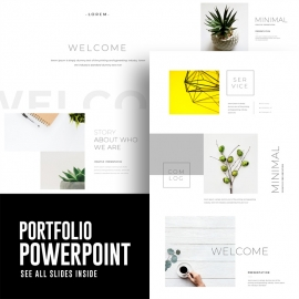 Creative Minimal Powerpoint Presentation