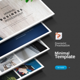 Creative Minimal Powerpoint Presentation Template