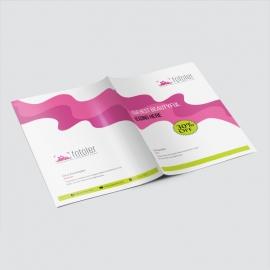 Creative Minimal Presentation Folder