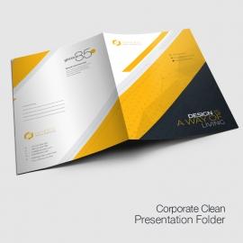 Creative Minimal Presentation Folder'