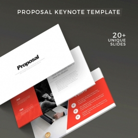 Creative Minimal Proposal Keynote Template