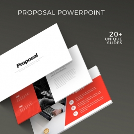 Creative Minimal Proposal Presentation Template