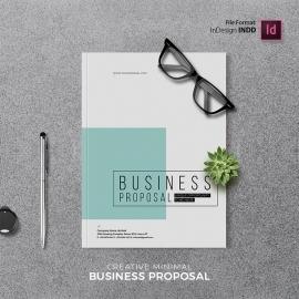 Creative Minimal Proposal Template Proposal Template
