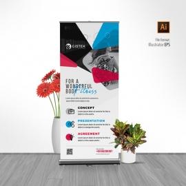 Creative Minimal Rollup Banner