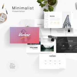 Creative Minimalist Powerpoint Template