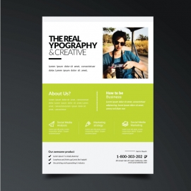 Creative Modern Green Flyer