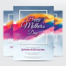 Creative Mother Day Flyer