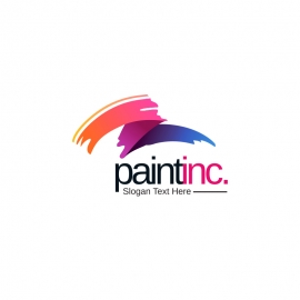 Creative Paint Brush Logo