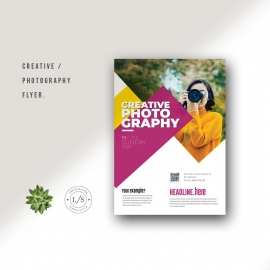 Creative Photography Flyer Template