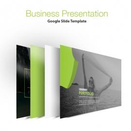 Creative Portfolio Google Slide Presentation