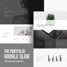Creative Portfolio Google Slide Template