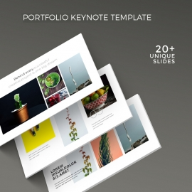 Creative Portfolio Keynote Template