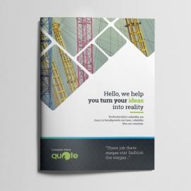 Creative Quote Brand Bifold Brochure