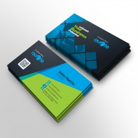 Creative Quote Brand Business Card